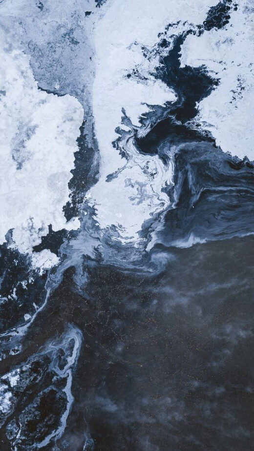 photo of the sea wave