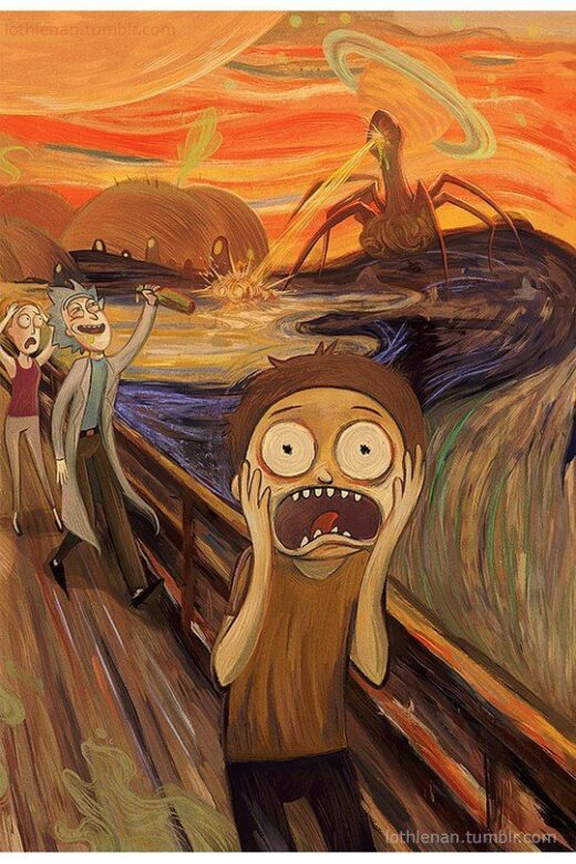 morty scream