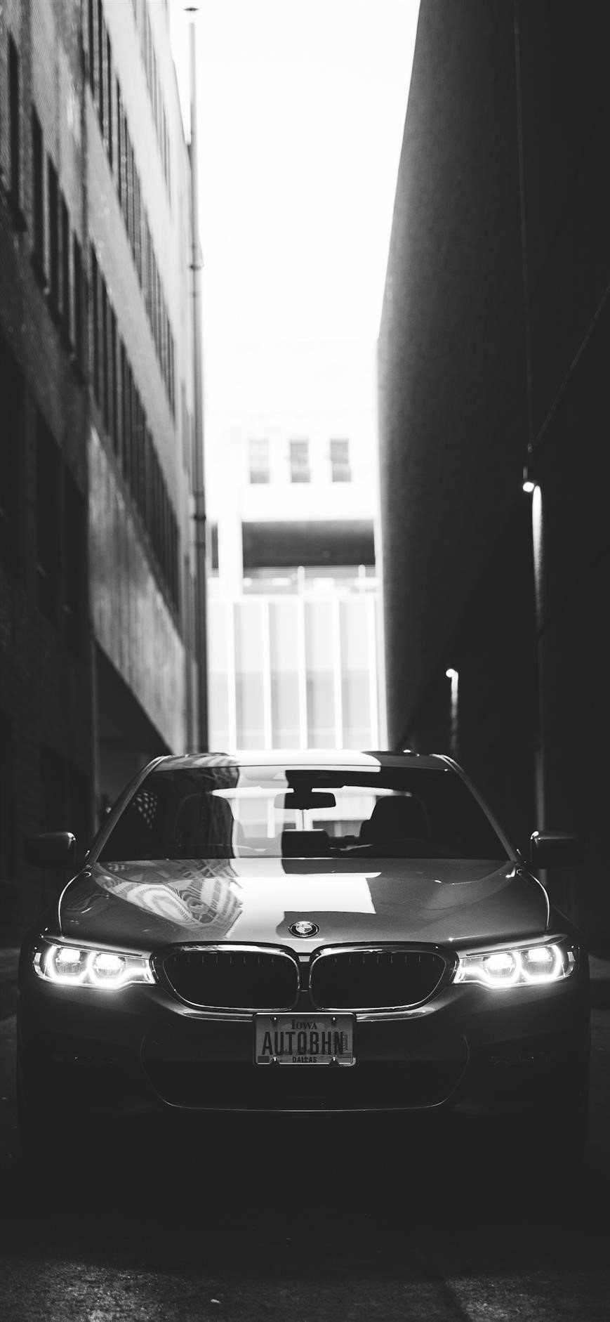iPhone wallpapers cars bmw black and white